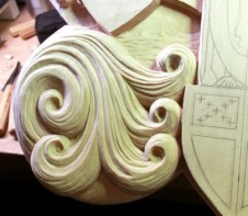 Details of the spiral waves.